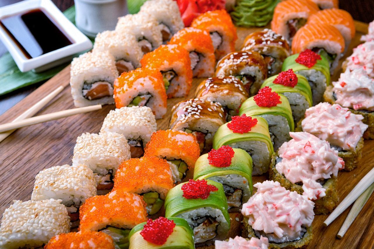 Где в Харькове заказать суши: полный обзор - Харьков Vgorode.ua